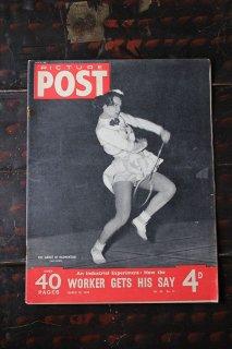 イギリス「PICTURE POST」1949年3月19日号 WOKER GETS HIS SAY