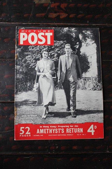 イギリス「PICTURE POST」1949年10月1日...