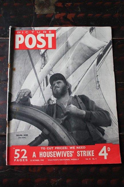 イギリス「PICTURE POST」1949年10月22...