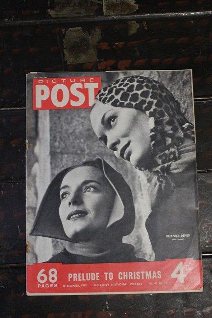 イギリス「PICTURE POST」1949年12月10...