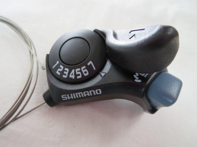 SHIMANO(シマノ) サムシフターPLUS リア7S インデックス SL-TX30-R7 ブラック