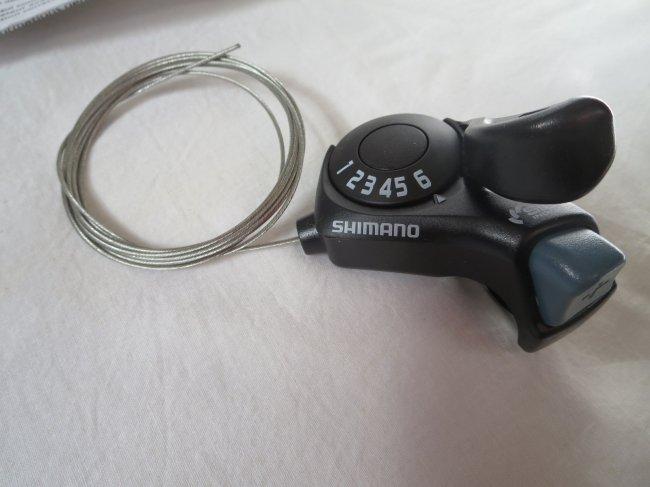 SHIMANO(シマノ) サムシフターPLUS リア6S インデックス SL-TX30-R6 ブラック