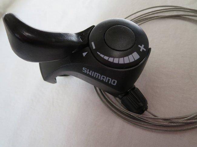 SHIMANO(シマノ) サムシフターPLUS フロント3段インデックス SL-TX30LN  ブラック