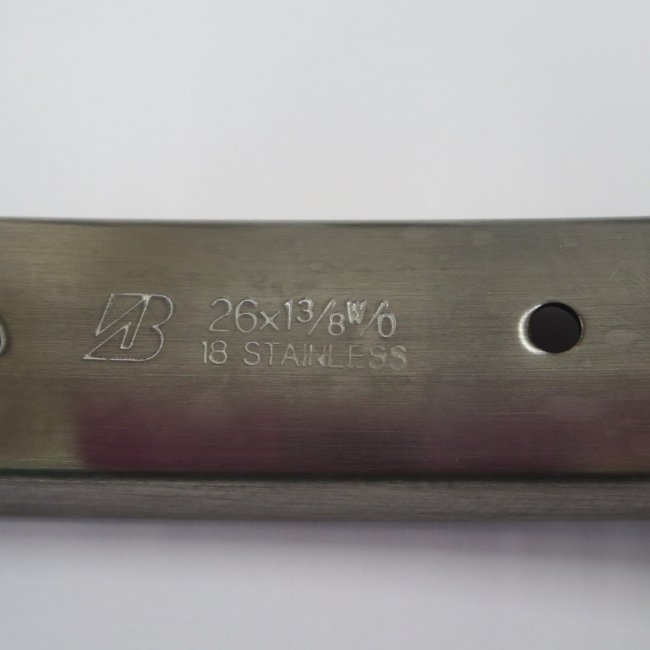 26×1 3/8 W/O ステンレスリム ブリヂストン製 Main