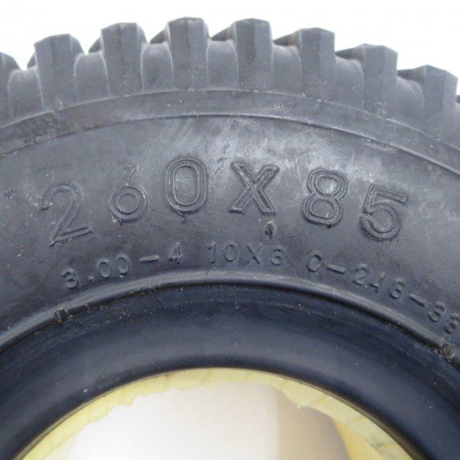 ノーパンクタイヤ 260x85(3.00-4)