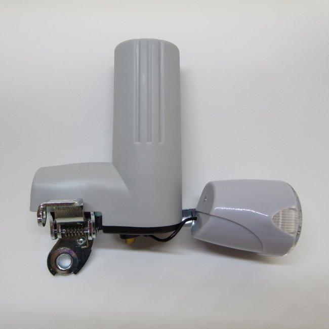 LEDブロックダイナモ DL-10 グレー