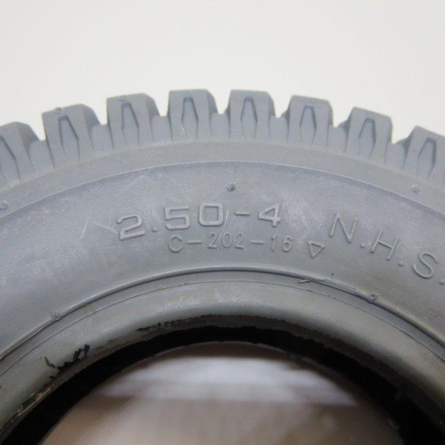 2.50-4 グレータイヤ (ラグタイプ)