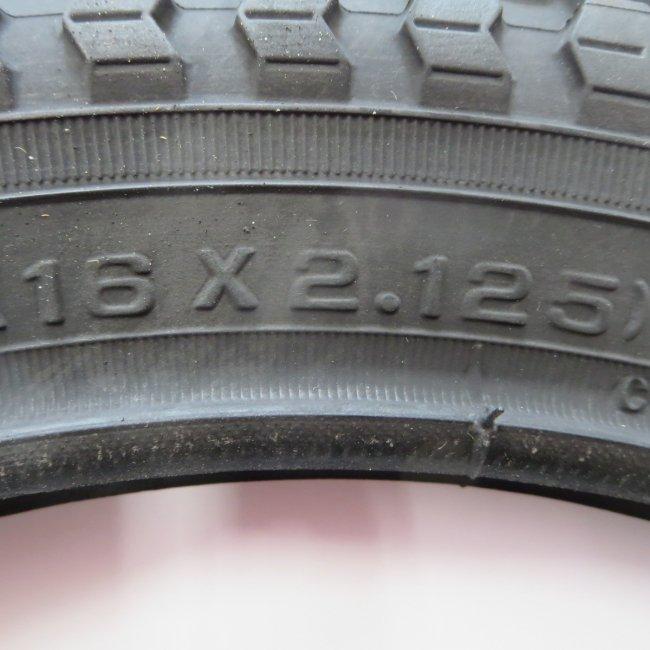 16×2.125タイヤのみ(1本)