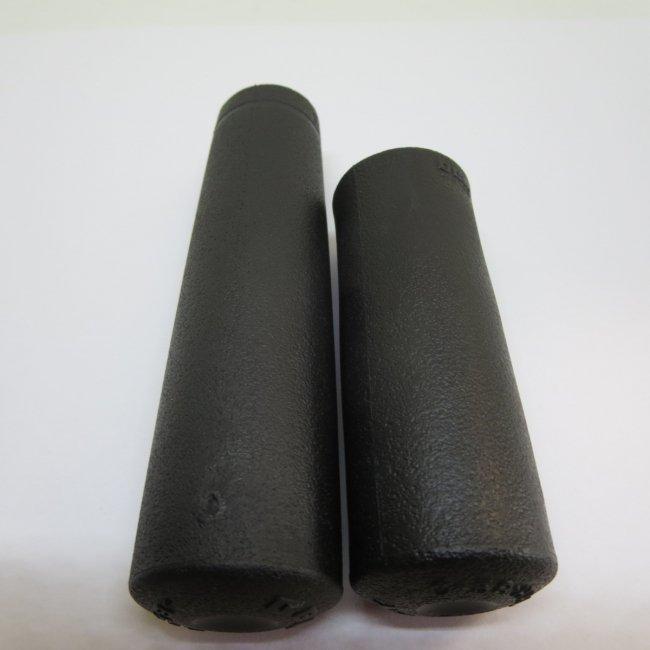 ハンドルグリップ(左ロング 右ショート)黒色