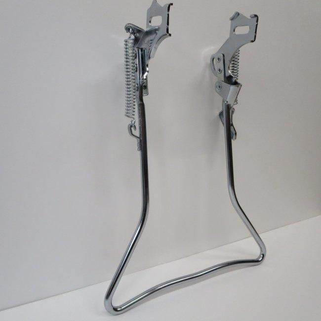 26インチ自転車用両立スタンド(メッキ色)