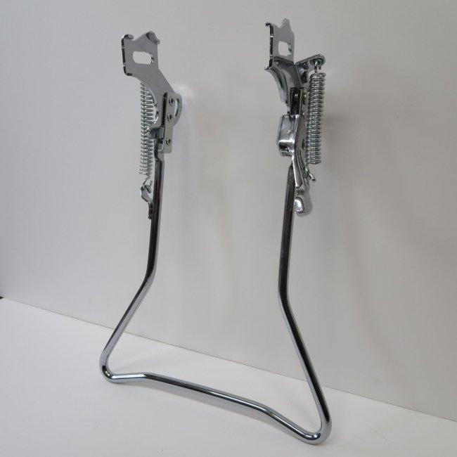 24インチ自転車用両立スタンド(メッキ色)