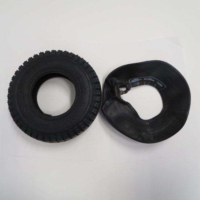 セニアカータイヤ・チューブセット(各1本)2.50-4