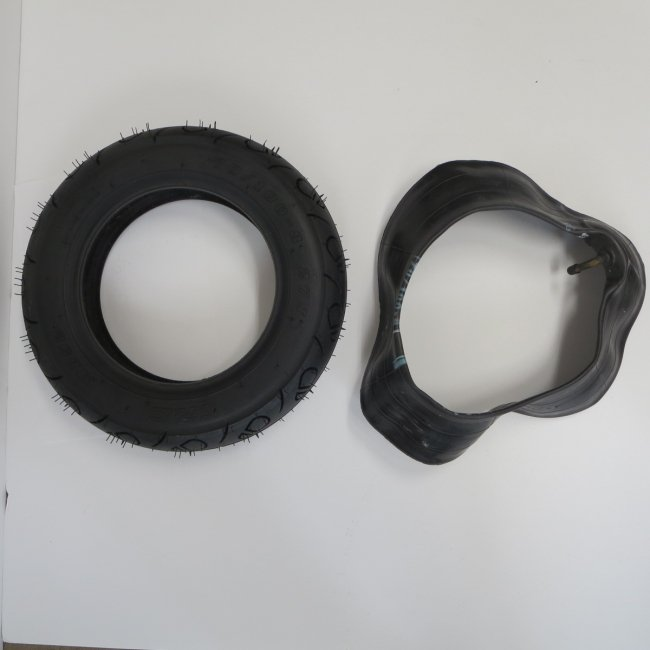 ホンダモンパルML100後輪タイヤ・チューブセット(各1本)70/100-8
