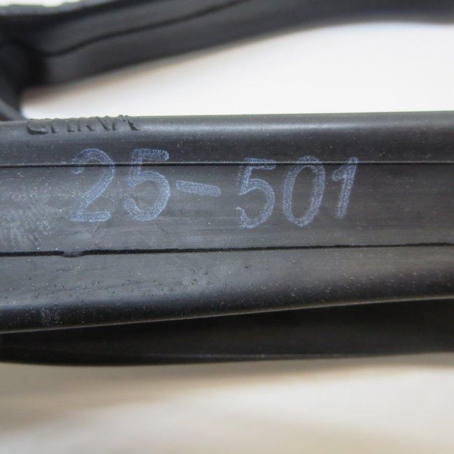 22×1車いすタイヤ用チューブ (25-501)(1本)