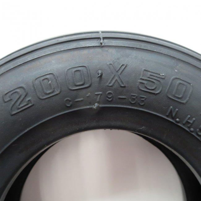 200×50 タイヤ(黒色)