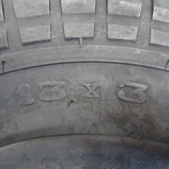 13x3 BEタイヤ