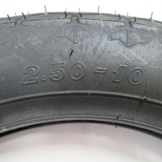 2.50-10 黒タイヤ
