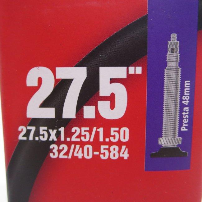 27.5×1.25-1.50チューブ(1本)仏口 48mmロングバルブ Main