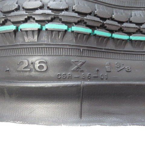 26x1 3/8 BEタイヤ チューブ (各1本)