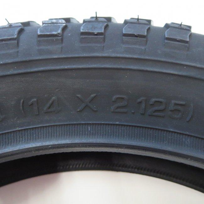 14x2.125CTBタイヤ(1本)