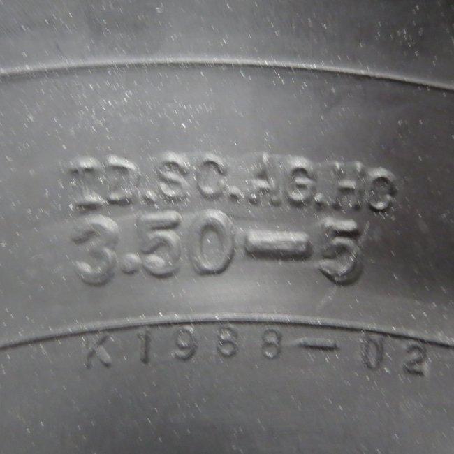 3.50-5 チューブ (ゴム直) ブリヂストン製