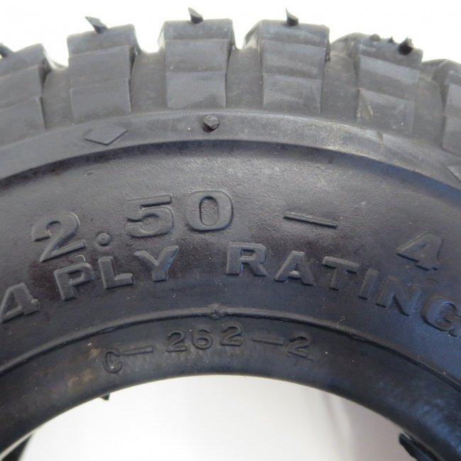 セニアカータイヤ2.50-4(チューブタイプ)