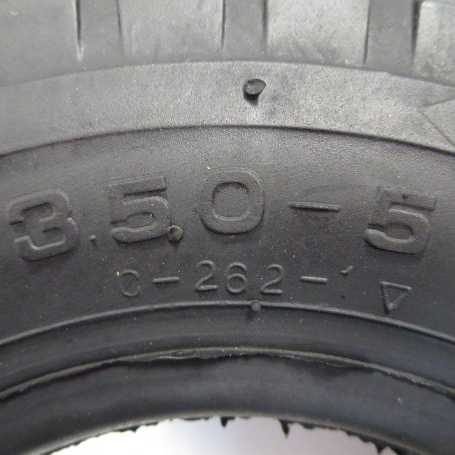 セニアカータイヤ3.50-5 (チューブタイプ)