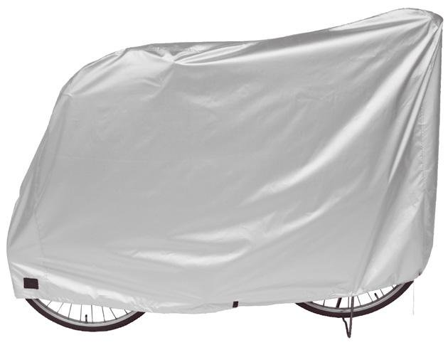自転車雨カバー ハイバック用、3人乗り用