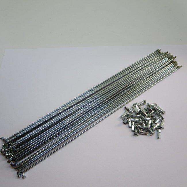 スポーク14×282ニップル付36本(鉄製)