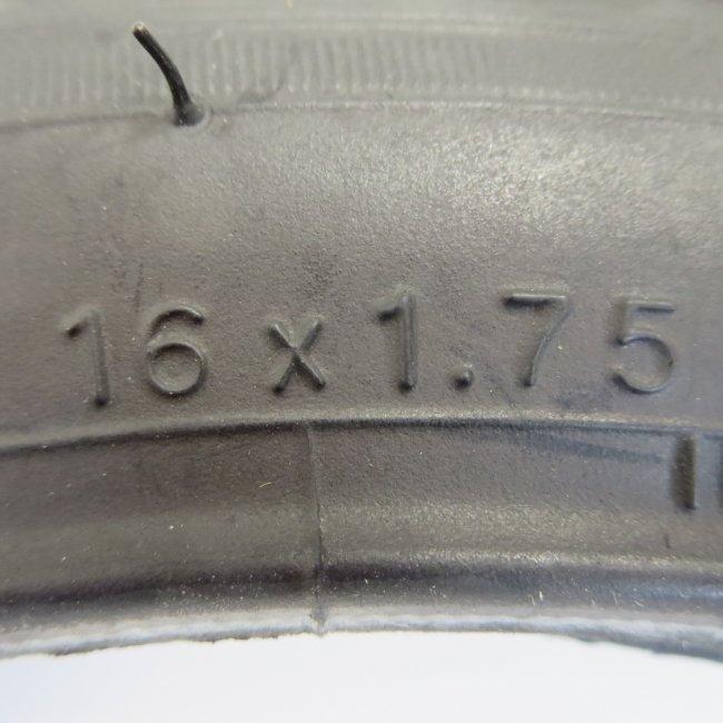 IRC(井上)16x1.75自転車用タイヤ チューブ(各1本)