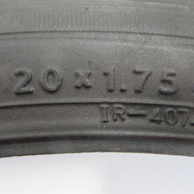 IRC(井上)20x1.75自転車用タイヤ チューブ(各1本)