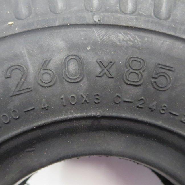 ホンダモンパルML100前輪タイヤ(チューブタイプ)3.00-4