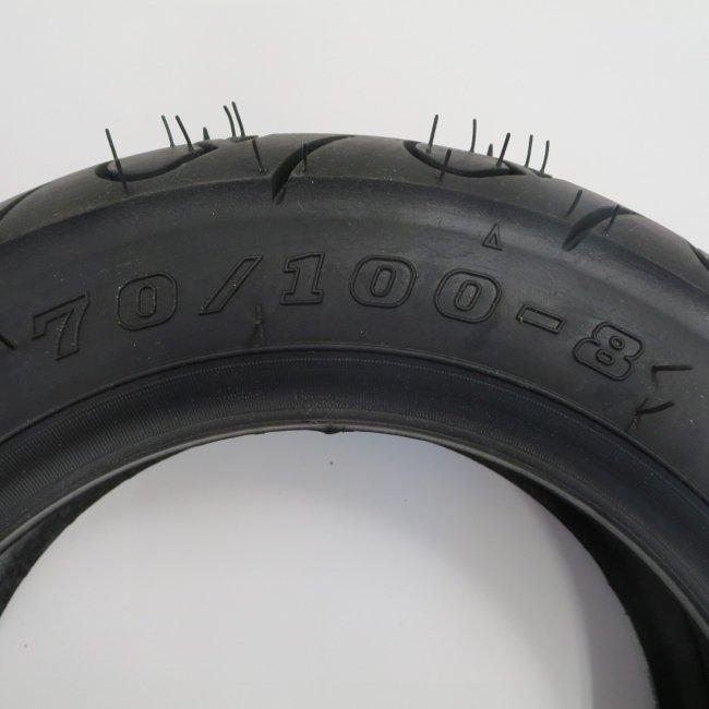 ホンダモンパルML100後輪タイヤ(チューブタイプ)70/100-8
