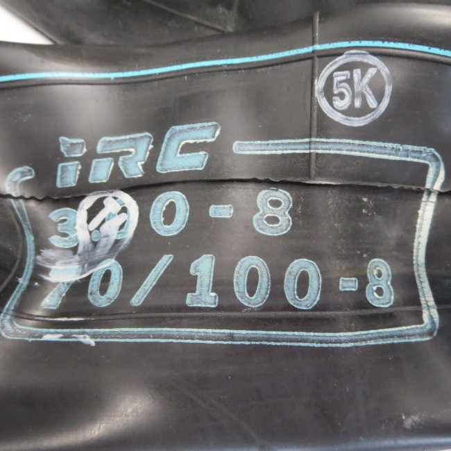 ホンダモンパルML100後輪タイヤ用チューブ L口 70/100-8用 (3.00-8)