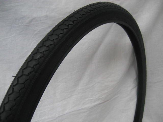 22x1 3/8 タイヤ チューブ (各1本) 黒