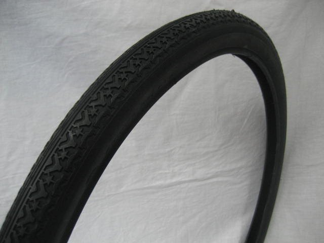 22x1 3/4 タイヤ チューブ (各1本) 黒