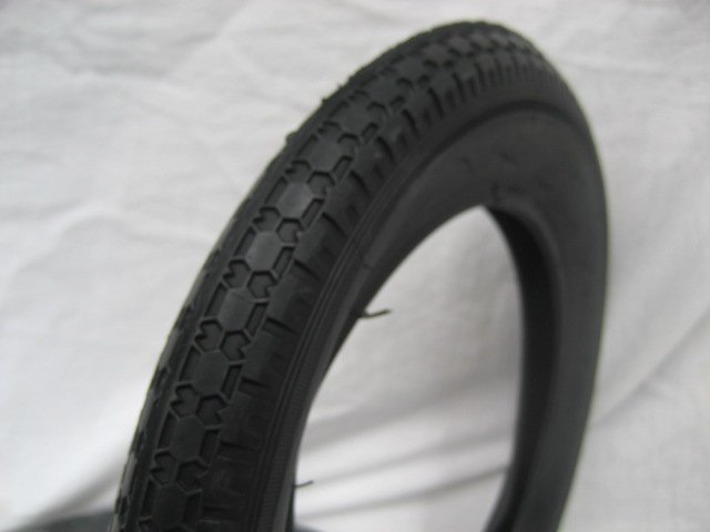 12 x 1/2 x 2 1/4  自転車用タイヤ チューブ(各1本)