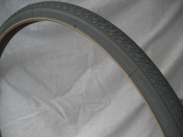 24x1 グレー タイヤ (1本) 25-520