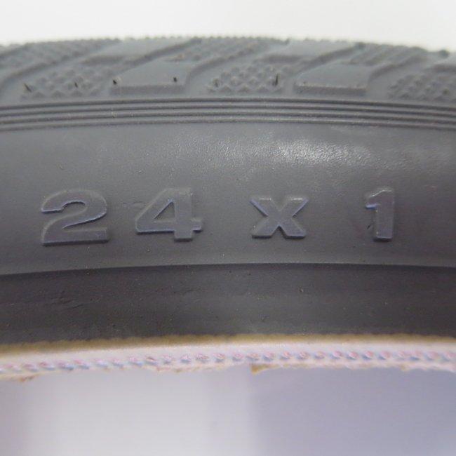 24x1黒タイヤ(1本) 600x25C