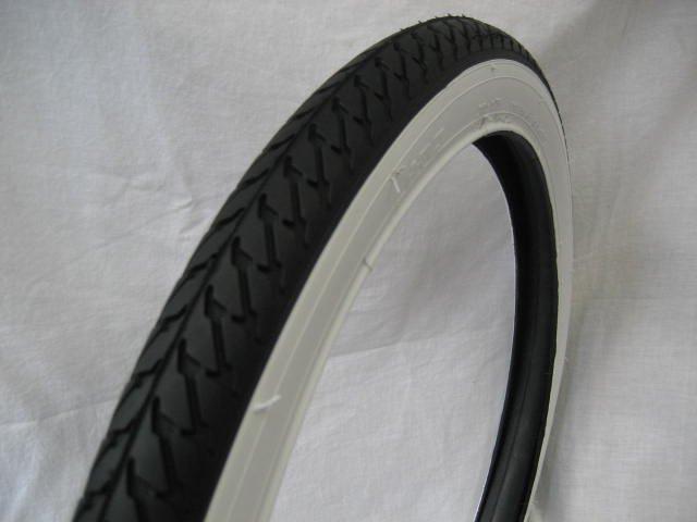 IRC(井上) 20x1.75 サイド白 自転車用タイヤ チューブ(各1本)