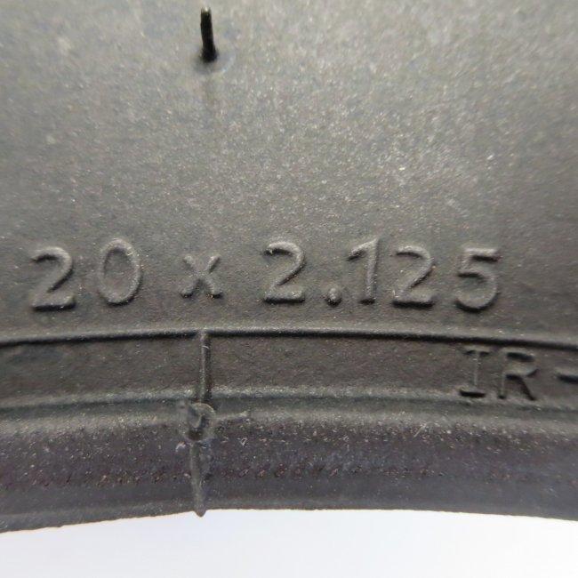 井上(IRC)20x2.125タイヤだけ (1本)