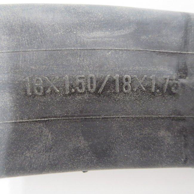 18 x 1.50 / 1.75 (米口) チューブ 1本