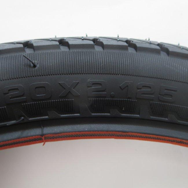 井上(IRC)20x2.125電動アシスト自転車用タイヤ チューブ (各1本)