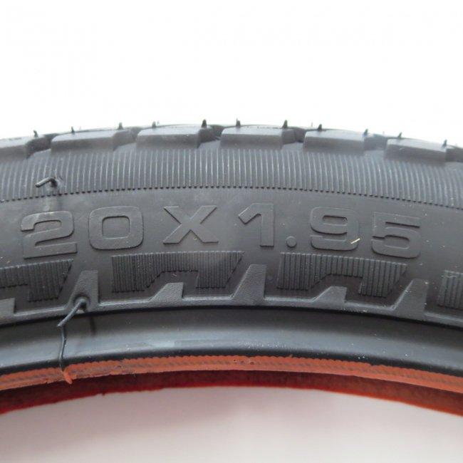 IRC(井上) 20x1.95  自転車用タイヤ チューブ 81型