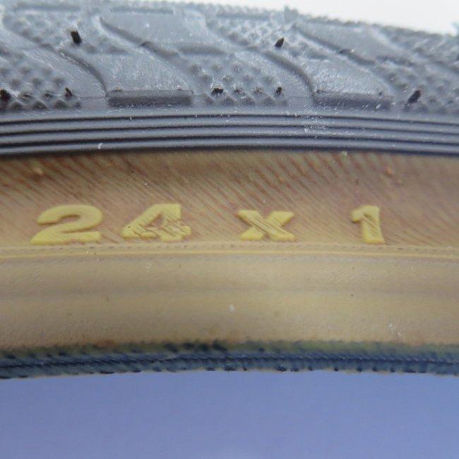 24x1 グレーオープンタイヤ(1本) 25-520