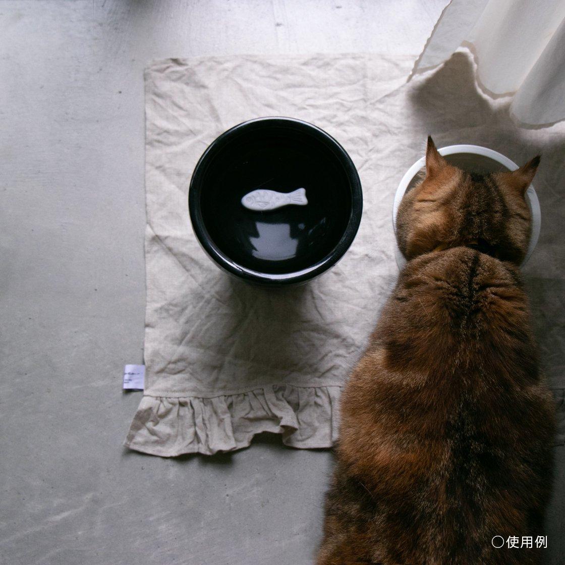 Classy Bowl【water bowl】ホワイト(白磁)/ 水用