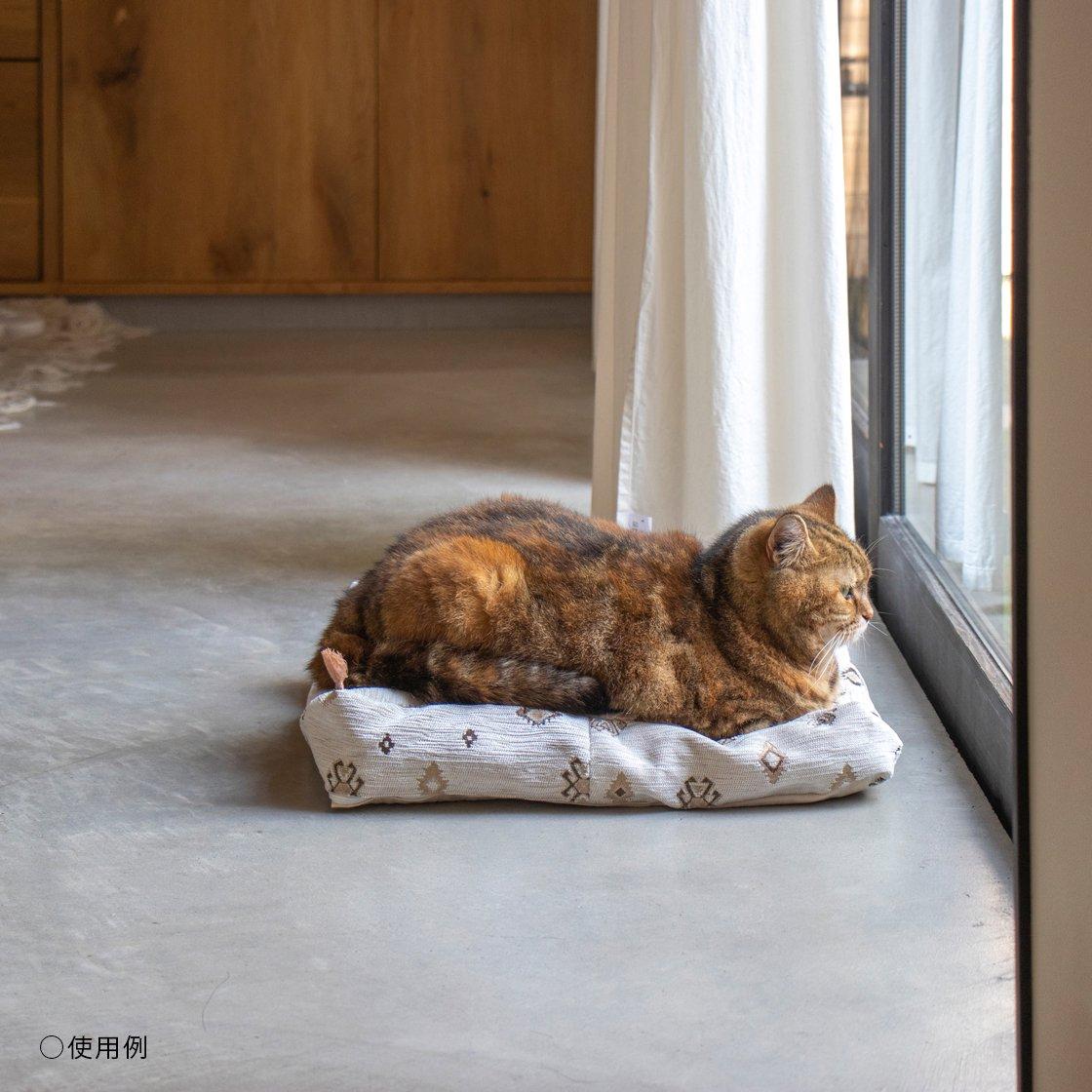 キリムのベッドカバー No.BLUE001