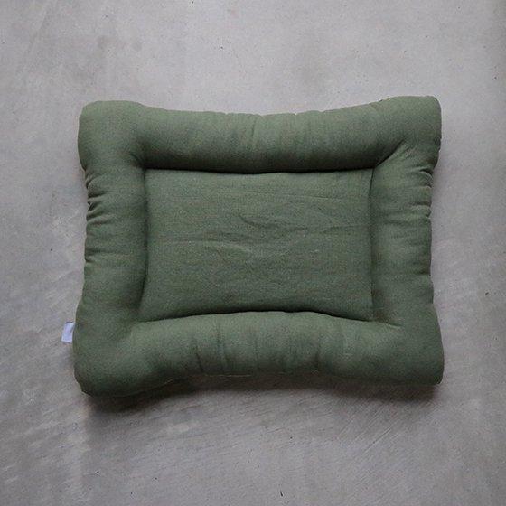 【受注製作】色が選べるベッド/リトアニアリネン<ソリッド・カラー>