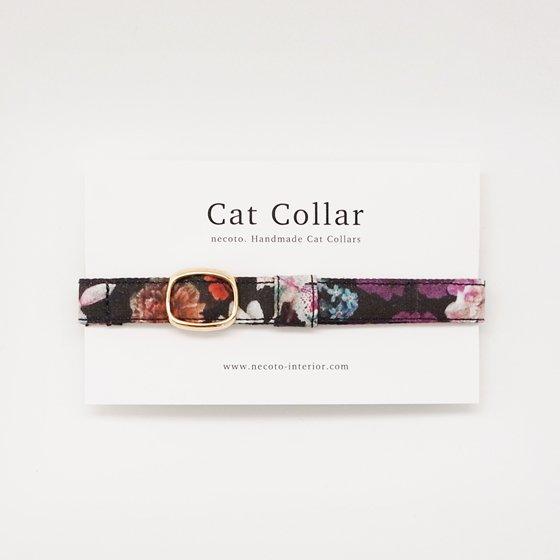 猫の首輪/やわらかコットン【Liberty London-Floral Edit】