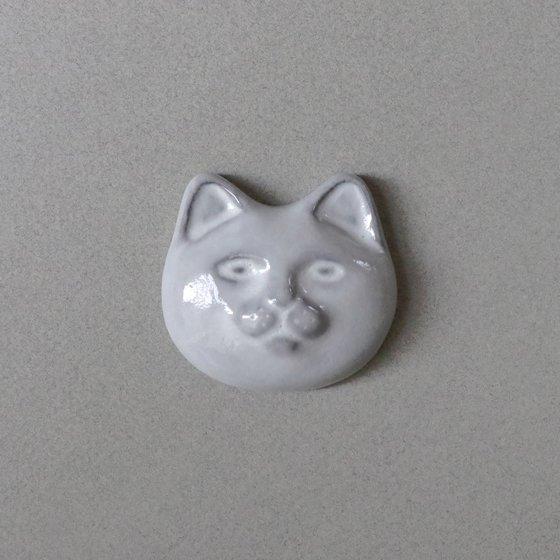 necoto THz ceramic plate【cat face / WHT】